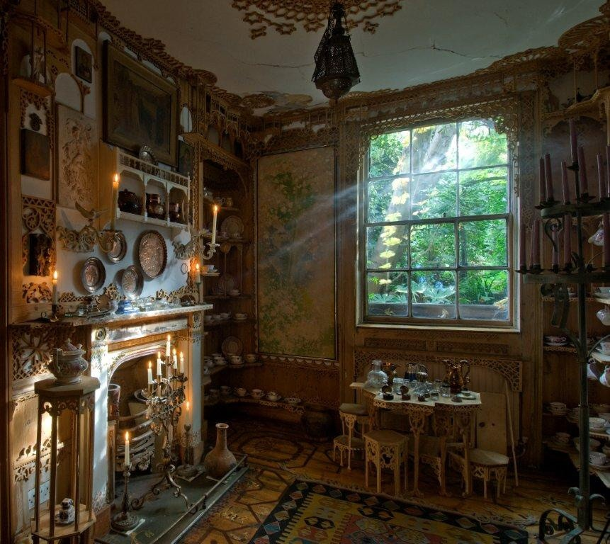 The Back Room at 575 Wandsworth Road, London | © Cristian Barnett/National Trust Images