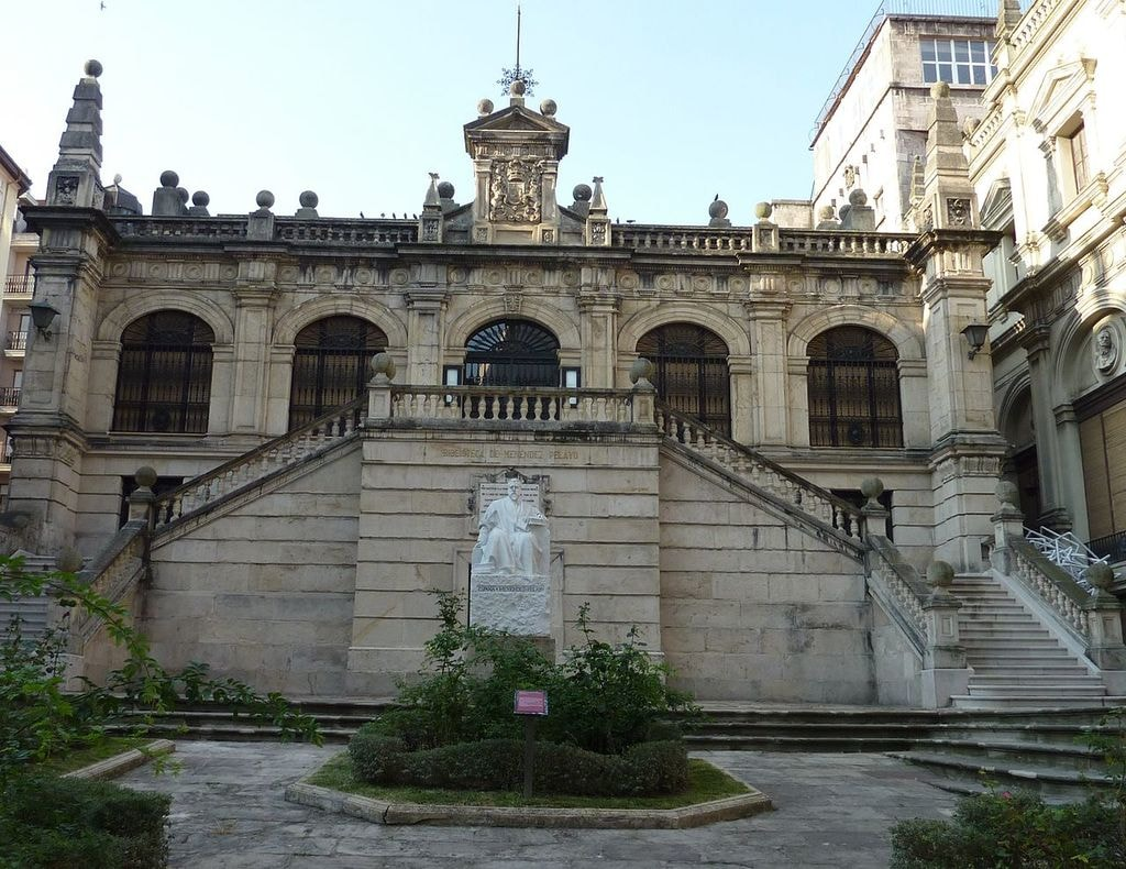 Biblioteca de Menédez Pelayo, Santander | ©AVANTI / Wikimedia Commons
