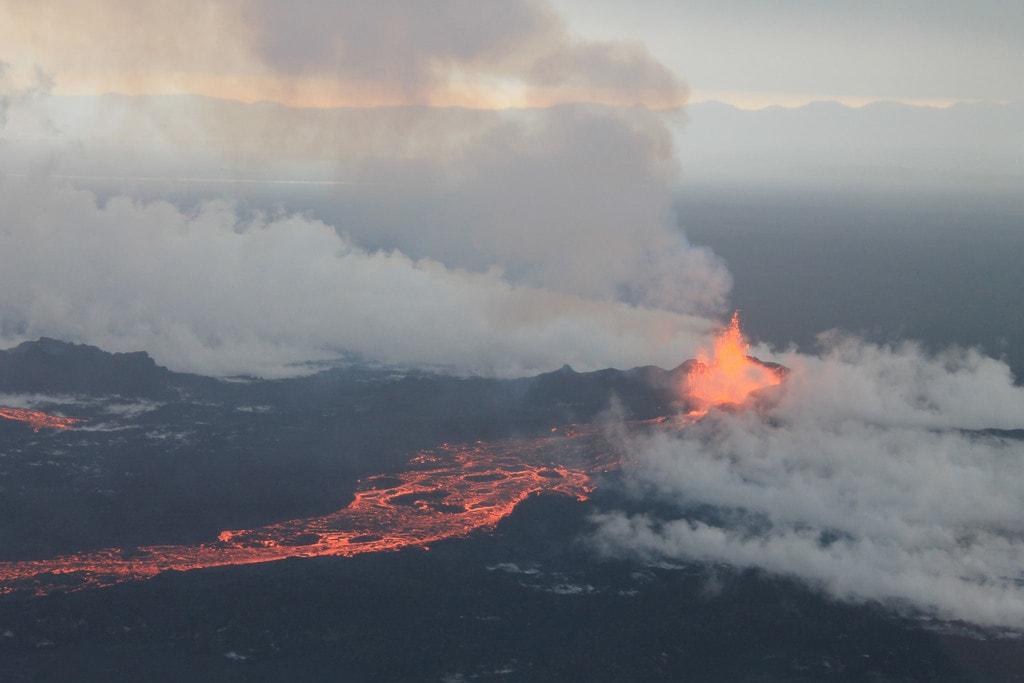 Bárðarbunga Volcano, September 4 2014 | © peterhartree/Flickr