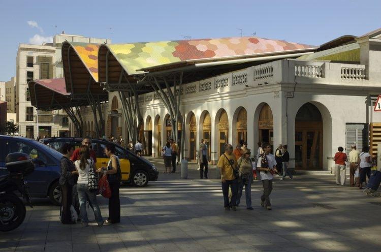 The Santa Caterina market and restaurant © Andrew Eland