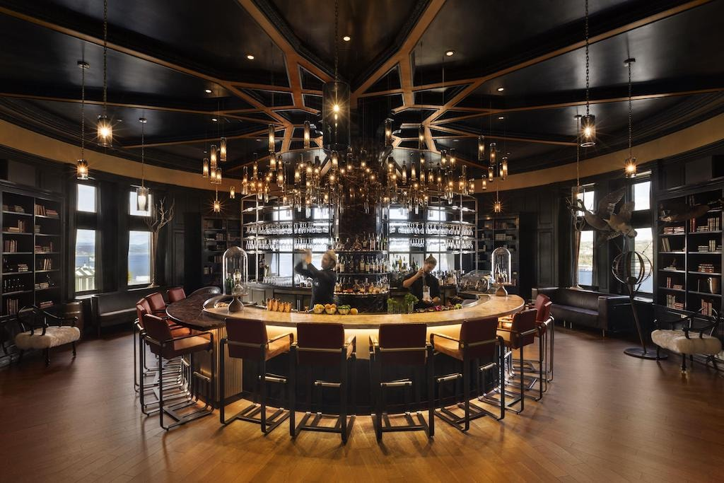 The Wine & Cheese Bar at the Château Frontenac   Courtesy of Fairmont Le Château Frontenac