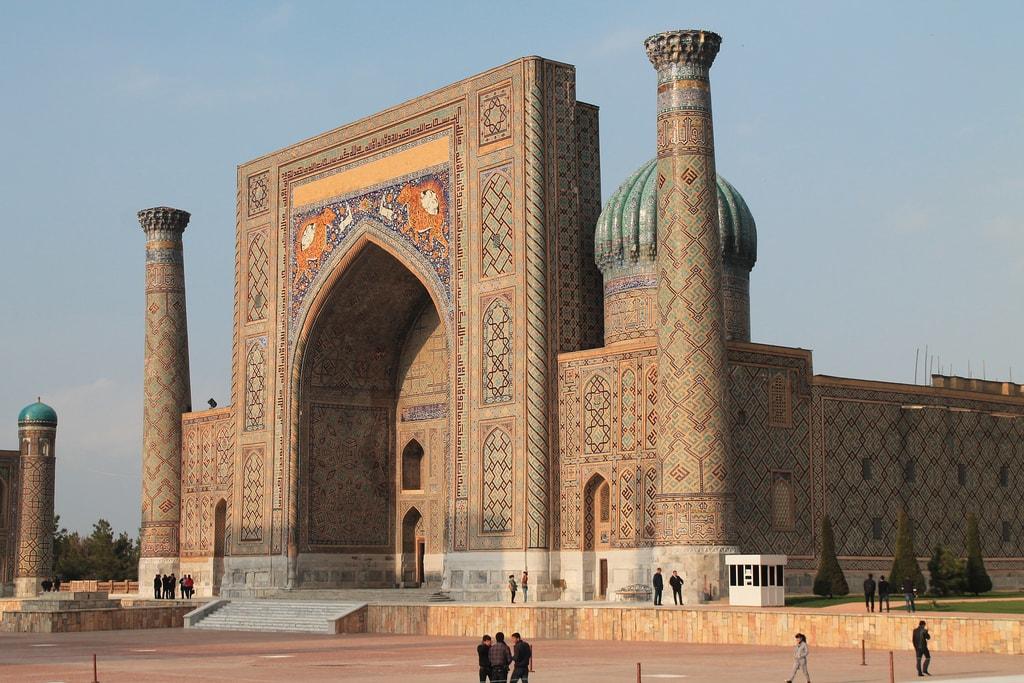 Shir Dor Mosque, Uzbekistan | © Robert Wilson/Flickr