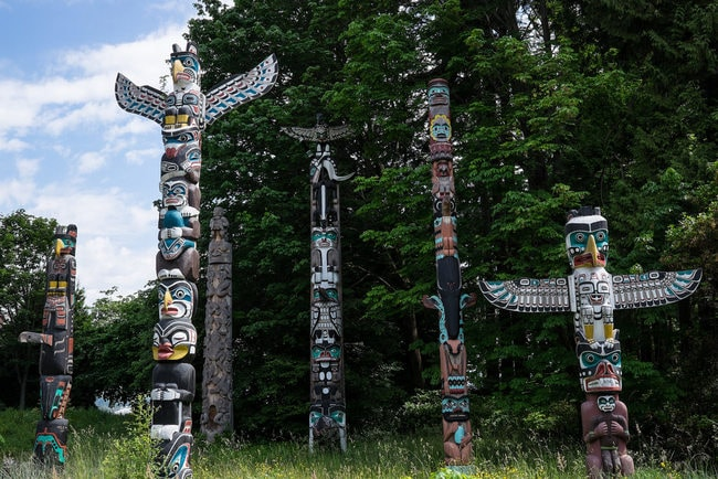 The Best Places To See Totem Poles In Canada