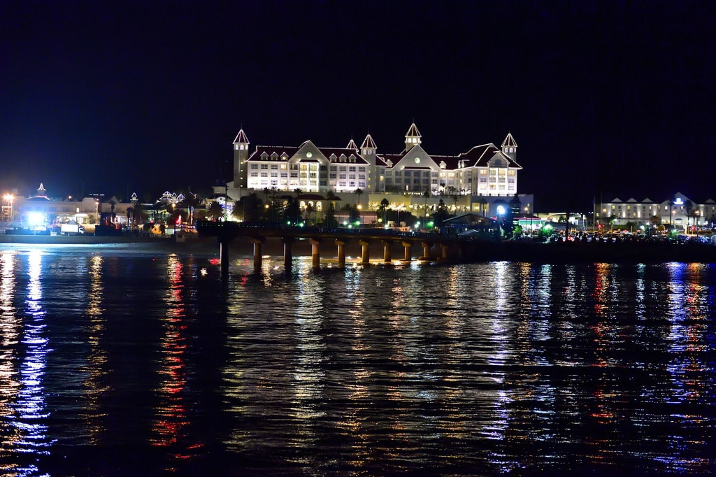 Port Elizabeth at night