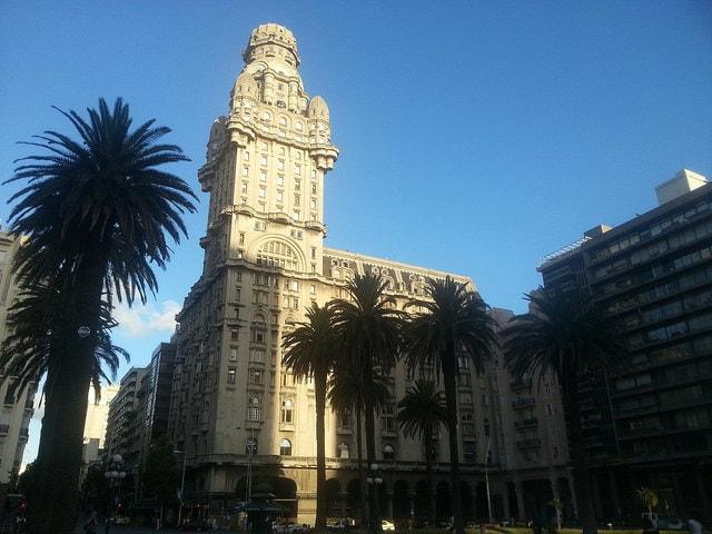 Palacio Salvo building, Ciudad Vieja, Montevideo, Uruguay