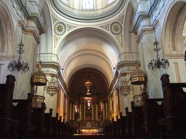 Montevideo Cathedral, Ciudad Vieja, Uruguay