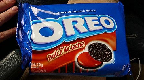 Dulce de Leche flavored Oreo cookies