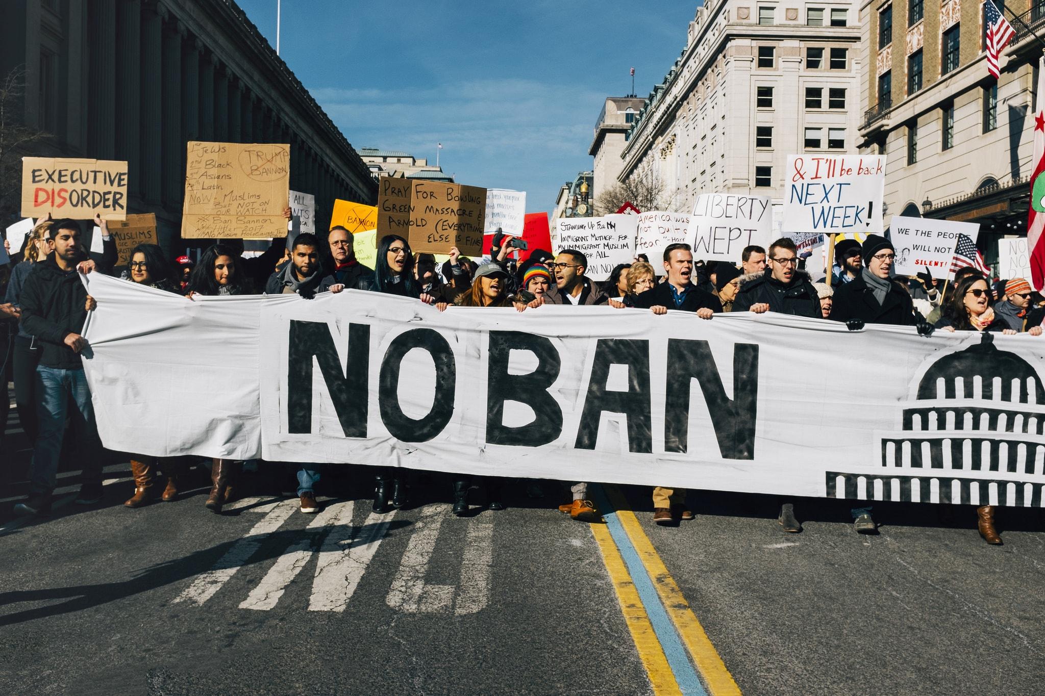 Ban protest | © Masha George/Flickr