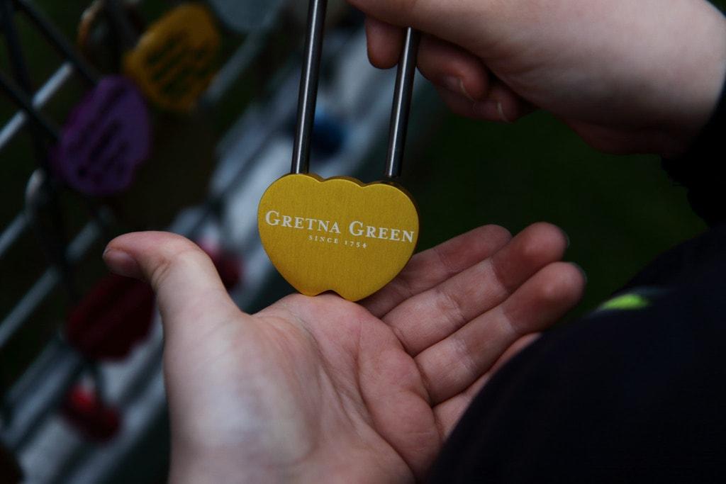 Gretna Green Love Lock