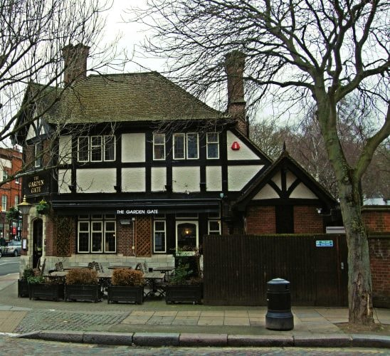 The Garden Gate Pub, Hampstead   © Jim Linwood/Flickr