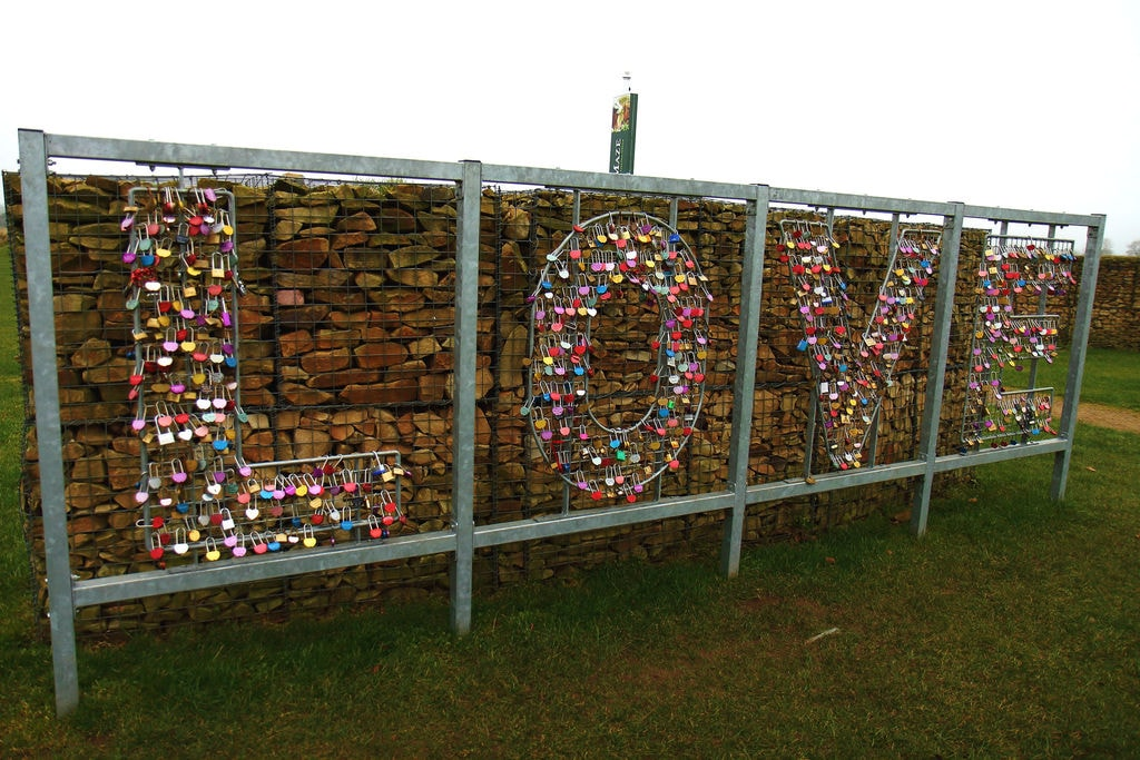 Gretna Green Love Locks