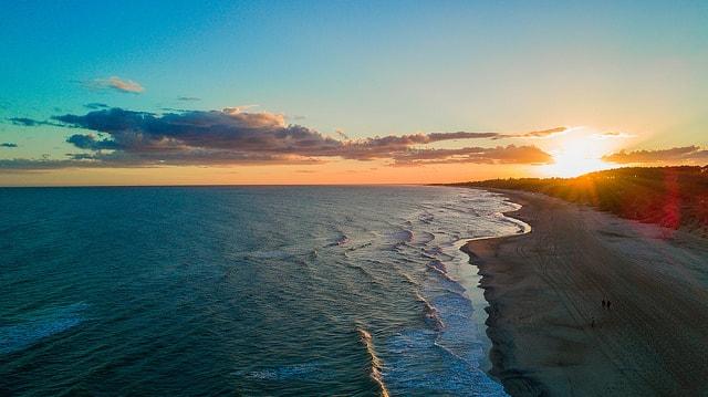 Beach at La Floresta, Canelones, Uruguay