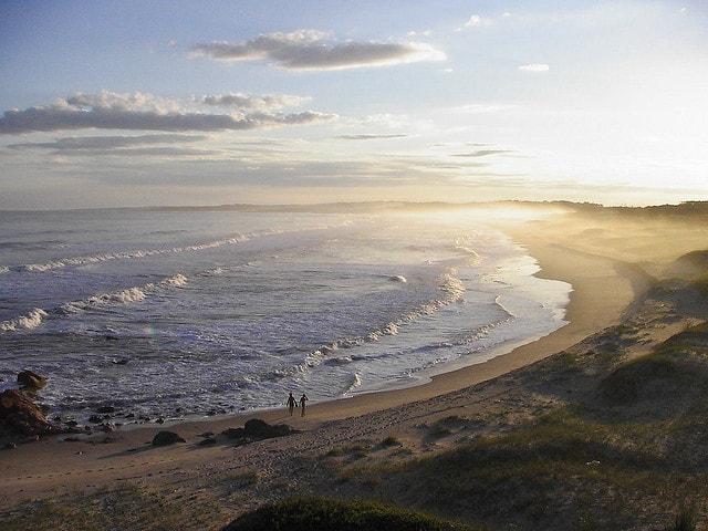 View from Cerro Verde, Rocha, Uruguay