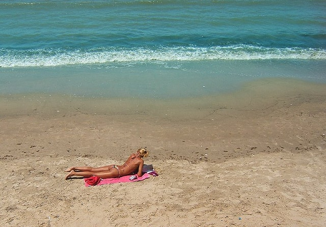 Solitude at the beach, Uruguay