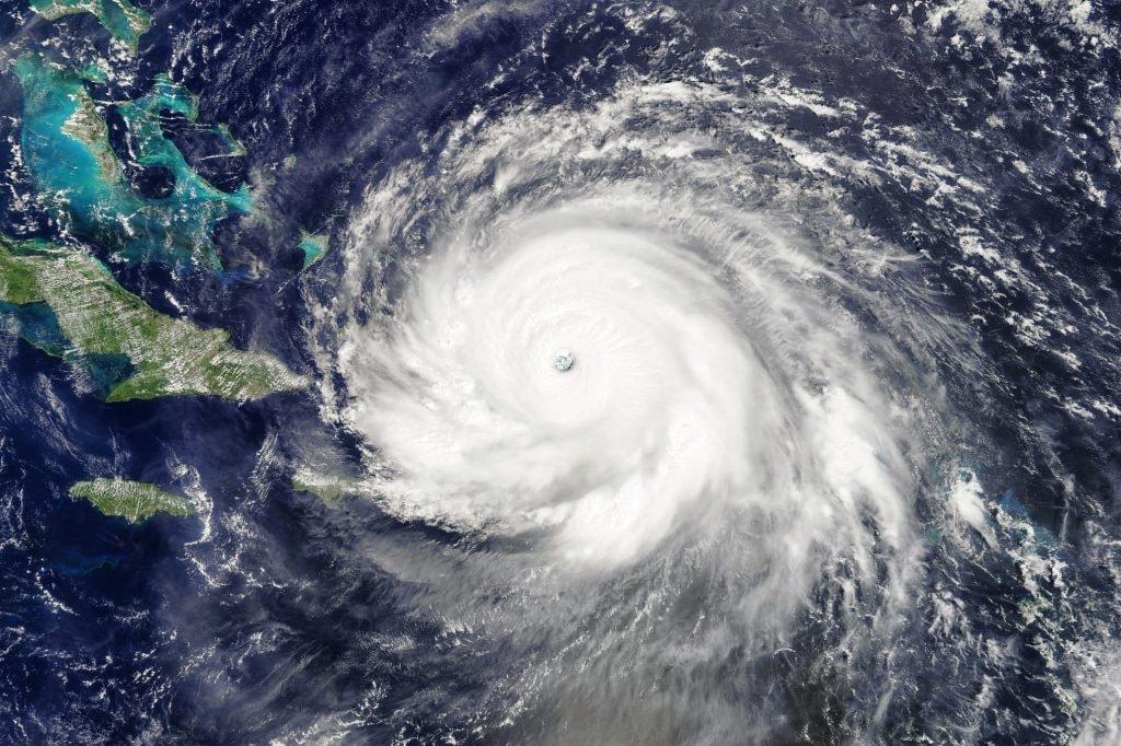 Hurricane Irma as seen by MODIS on board Terra satellite | © Antti Lipponen/Flickr (modified)