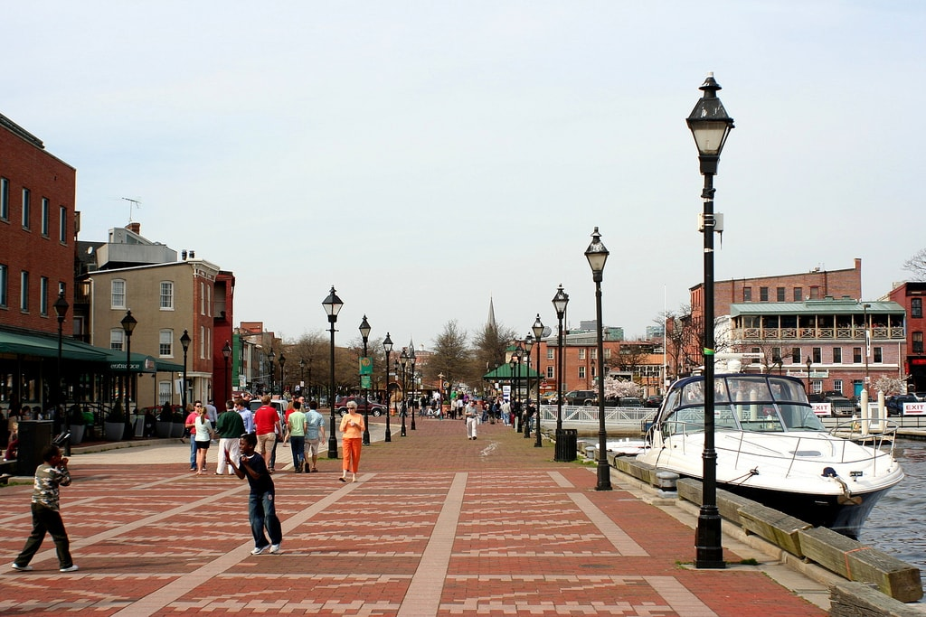Fell's Point in Baltimore, M.D. | © Isaac Wedin/Flickr