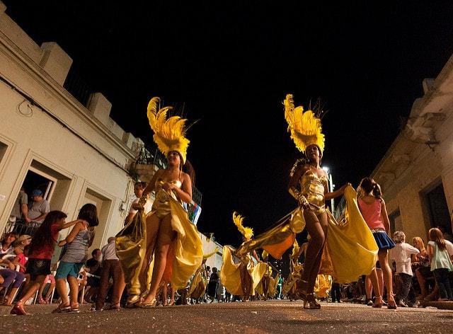 Las Llamadas, Montevideo in Carnival, Uruguay