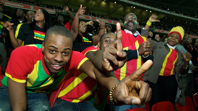 Black Stars supporters