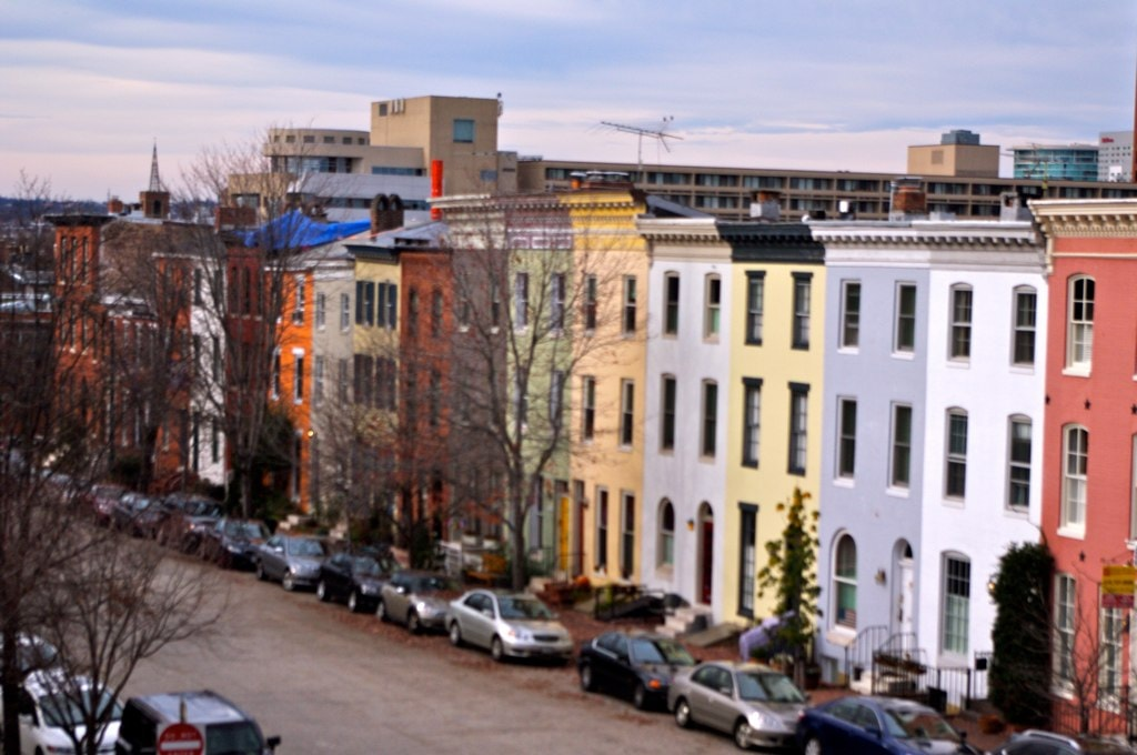 Federal Hill Row Homes | © L. Allen Brewer/Flickr