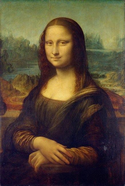 Leonardo da Vinci, 'Mona Lisa', 1503–06 | WikiCommons