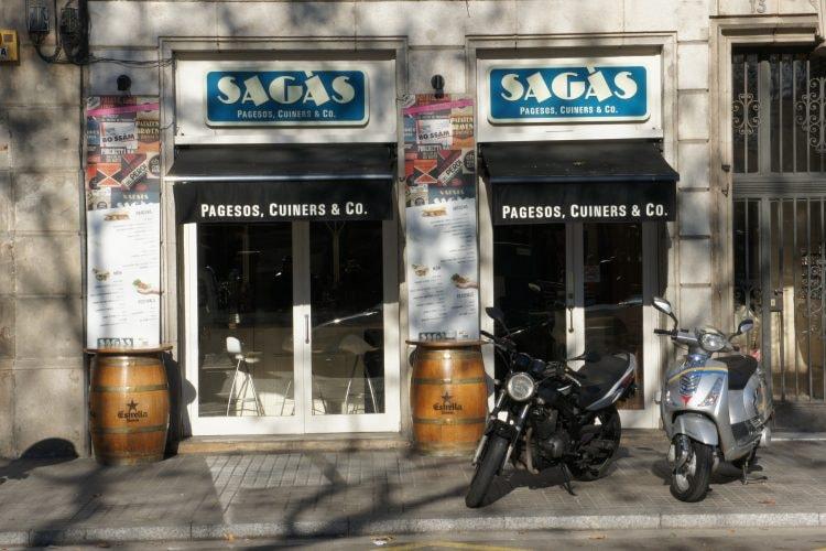 The Sagàs shop © Joselu Blanco