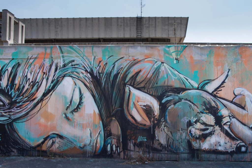 Street art by Alice Pasquini | © ( Waiting for ) Godot/Flickr