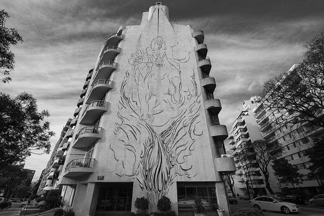 El Indio Building, Montevideo, Uruguay