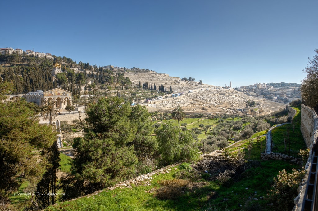 The Mount of Olives | © Derek Winterburn / Flickr