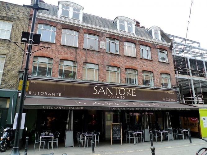 Santore, Clerkenwell | © Ewan Munro/Flickr