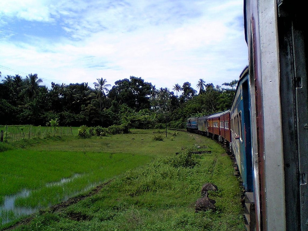 Train Sri Lanka