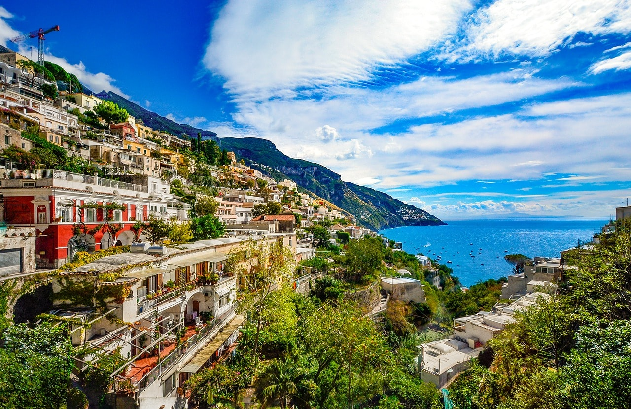 The Amalfi Coast CC0 Pixabay