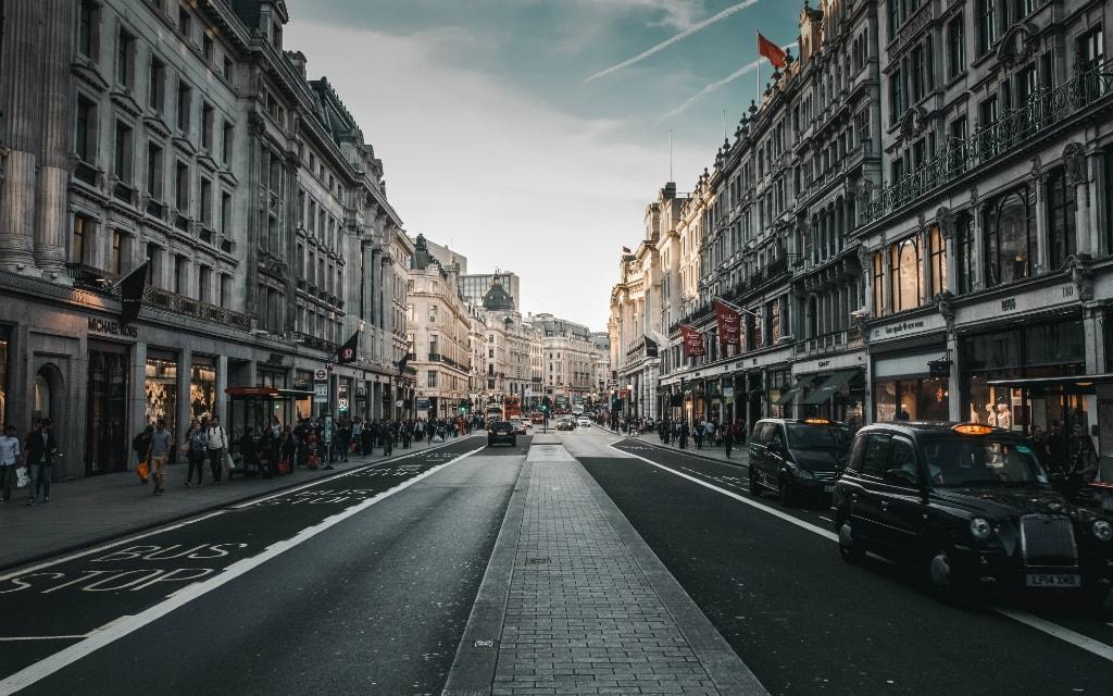 Regent Street, London, England