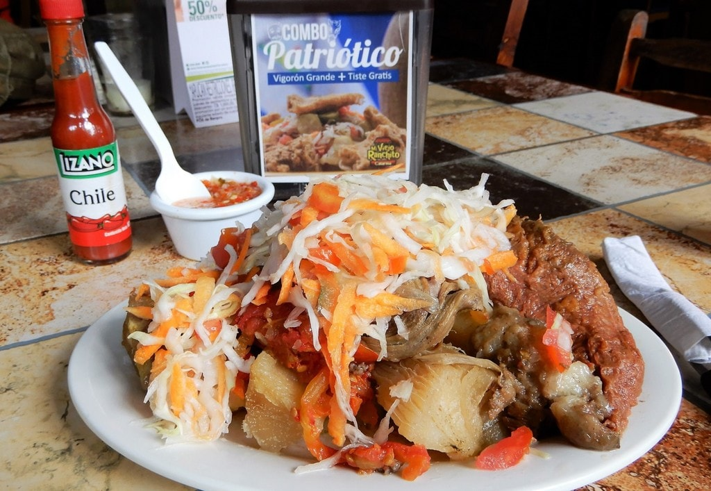 10 traditional dishes you must try in nicaragua baho is a nicaraguan blow out served on a banana leaf russell maddicks forumfinder Choice Image