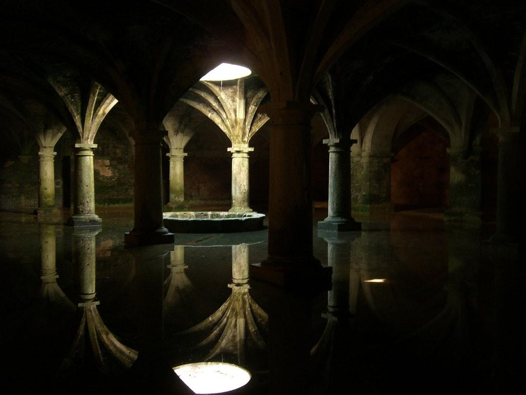 Water cisterns in El Jadida