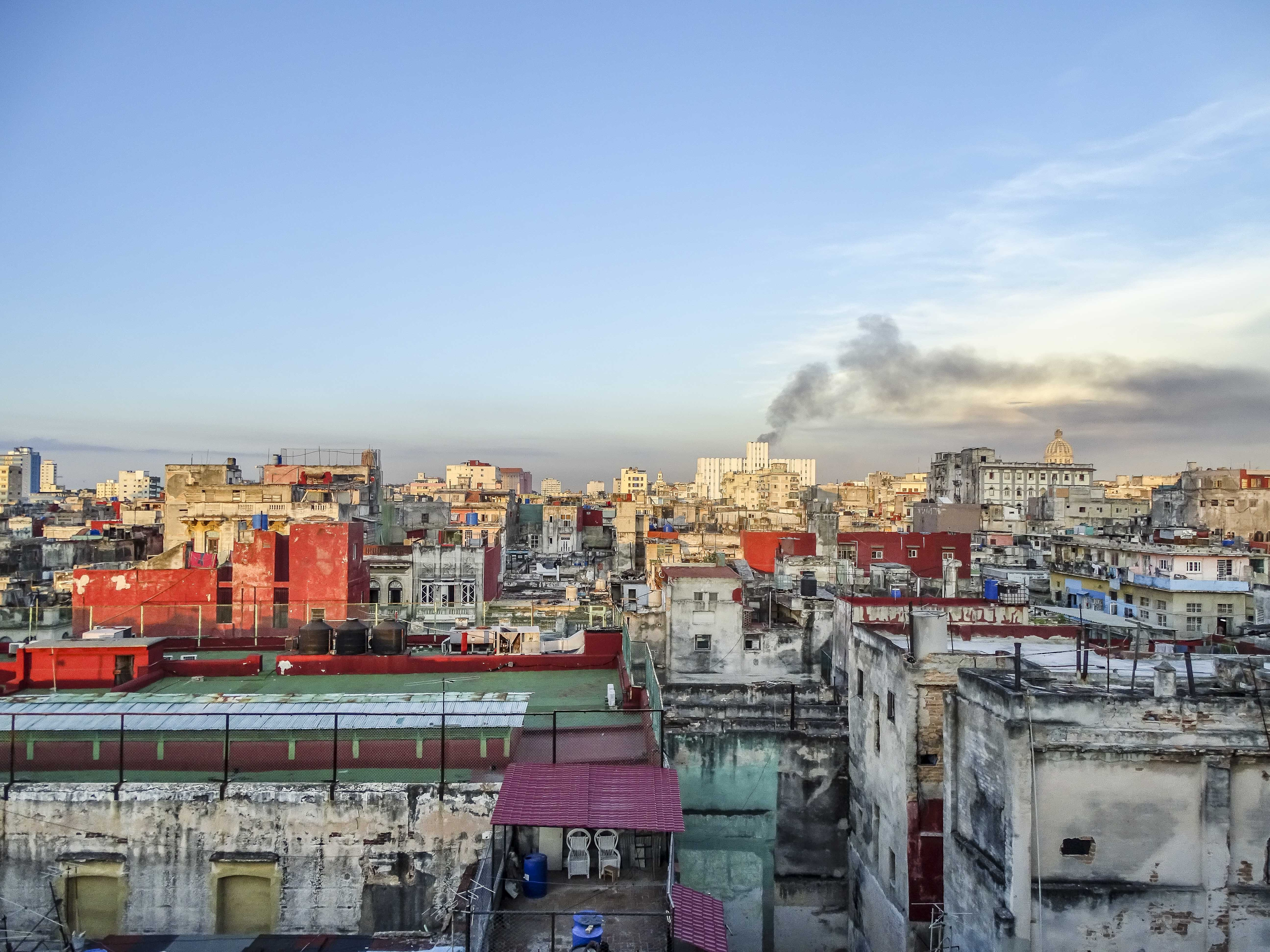 View of Havana, from atop a newly preserved historical building   © Amber C. Snider