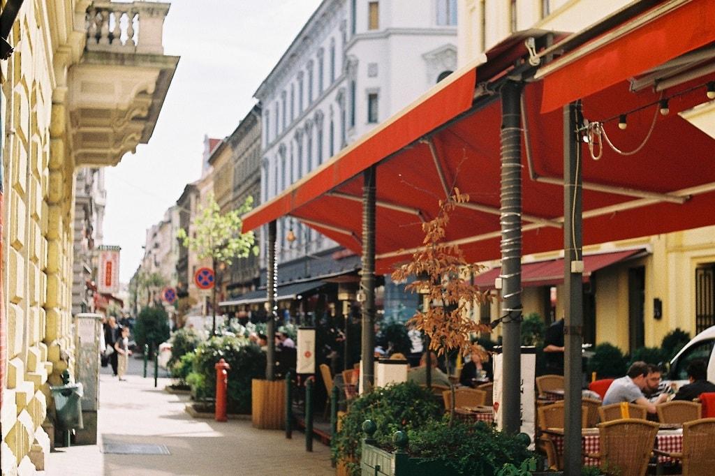Ráday utca Budapest