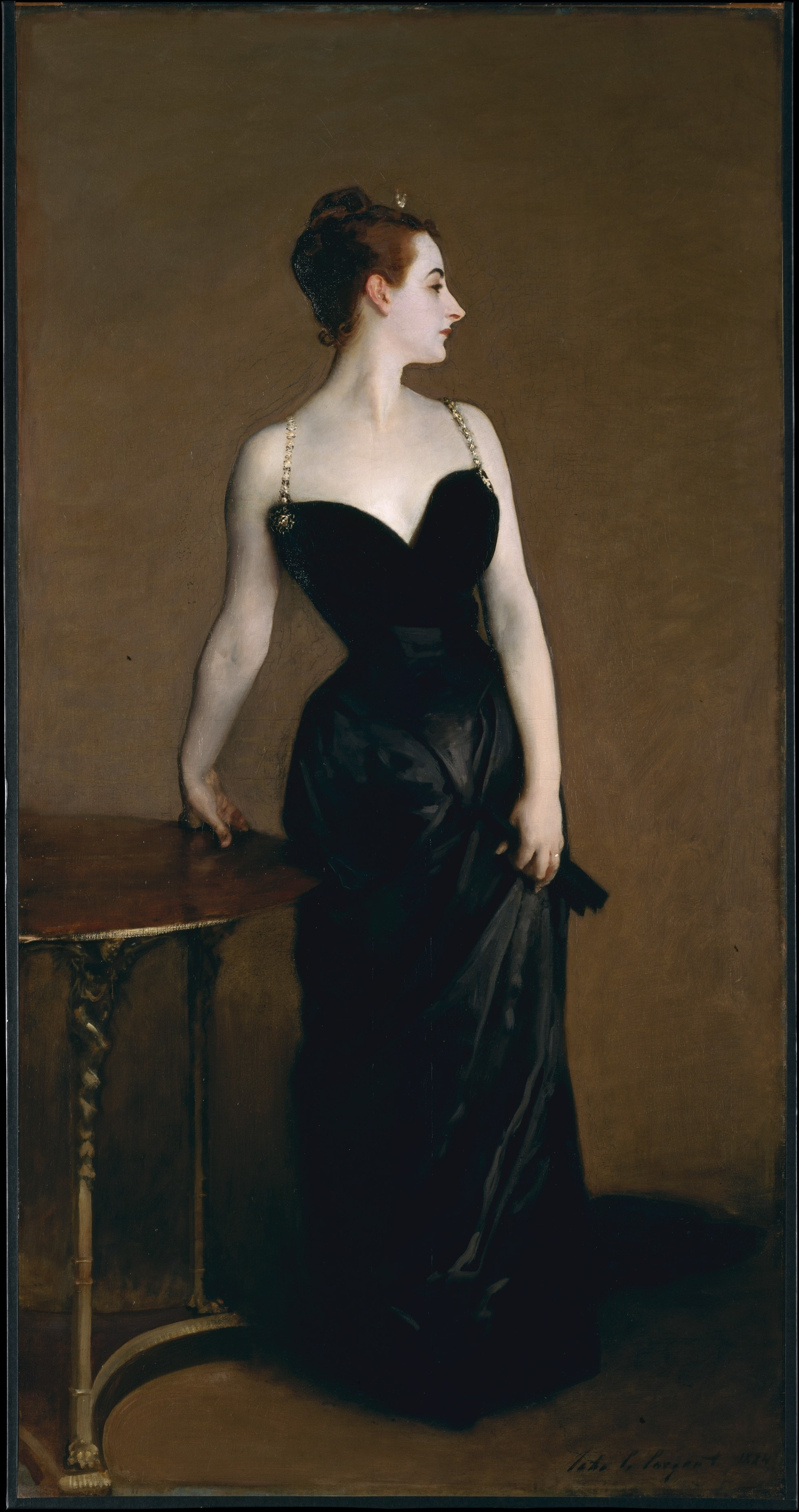 John Singer Sargent, Madame X (1883-84) | Courtesy of the Metropolitan Museum of Art