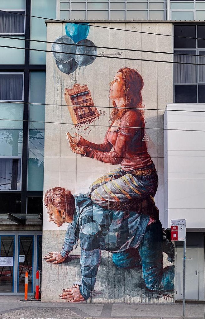 Fintan Magee Newtown mural | © JAM Project/Flickr