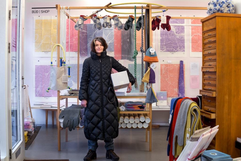 Sigriður Sigurjónsdóttir, Spark Design Space, was on Klapparstíg 33 | Courtesy of Helga Nina Aas