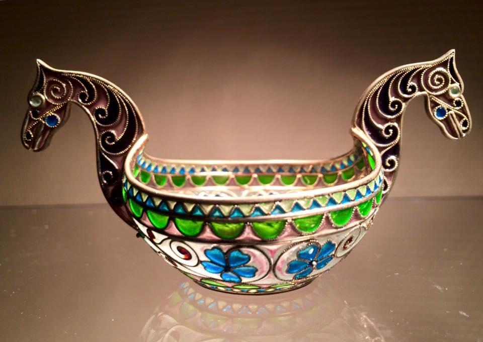 Art Nouveau Viking drinking bowl at Galleri Artifex | Courtesy of Galleri Artifex