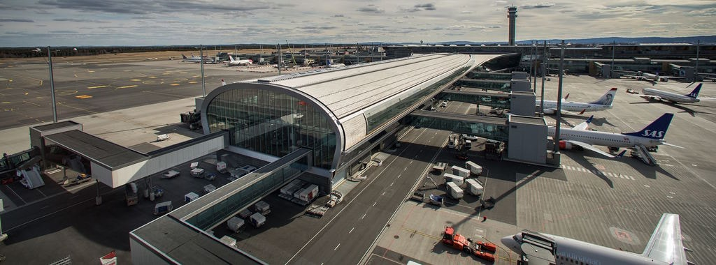Oslo Lufthavn Gardermoen | Courtesy of Avinor