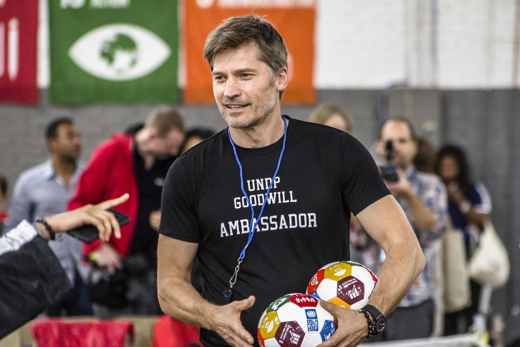 Nikolaj Coster-Waldau at 2017 Global Goals World Cup Final | © Amanda Suarez/Culture Trip
