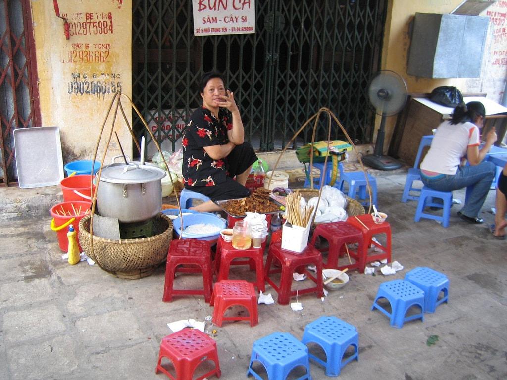 Hanoi Street Food | © Rachel Black\Flickr