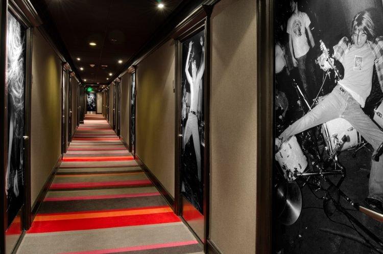 Hotel Max Corridor   Courtesy of Hotel Max