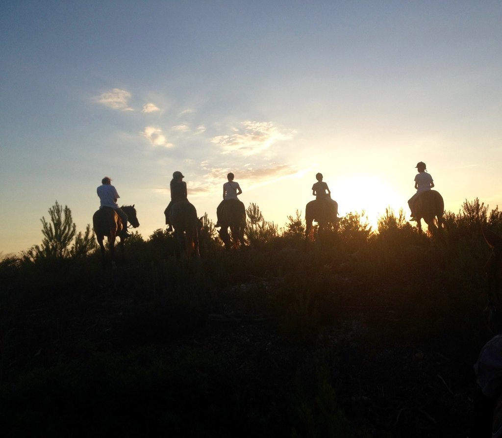Sunset on Horseback | Courtesy of Ibiza Horse Valley