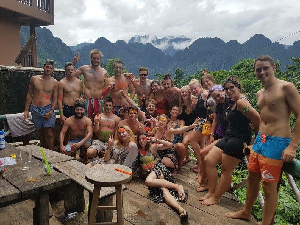 Tubing Party | © Courtesy of Easy Go Backpacker Hostel