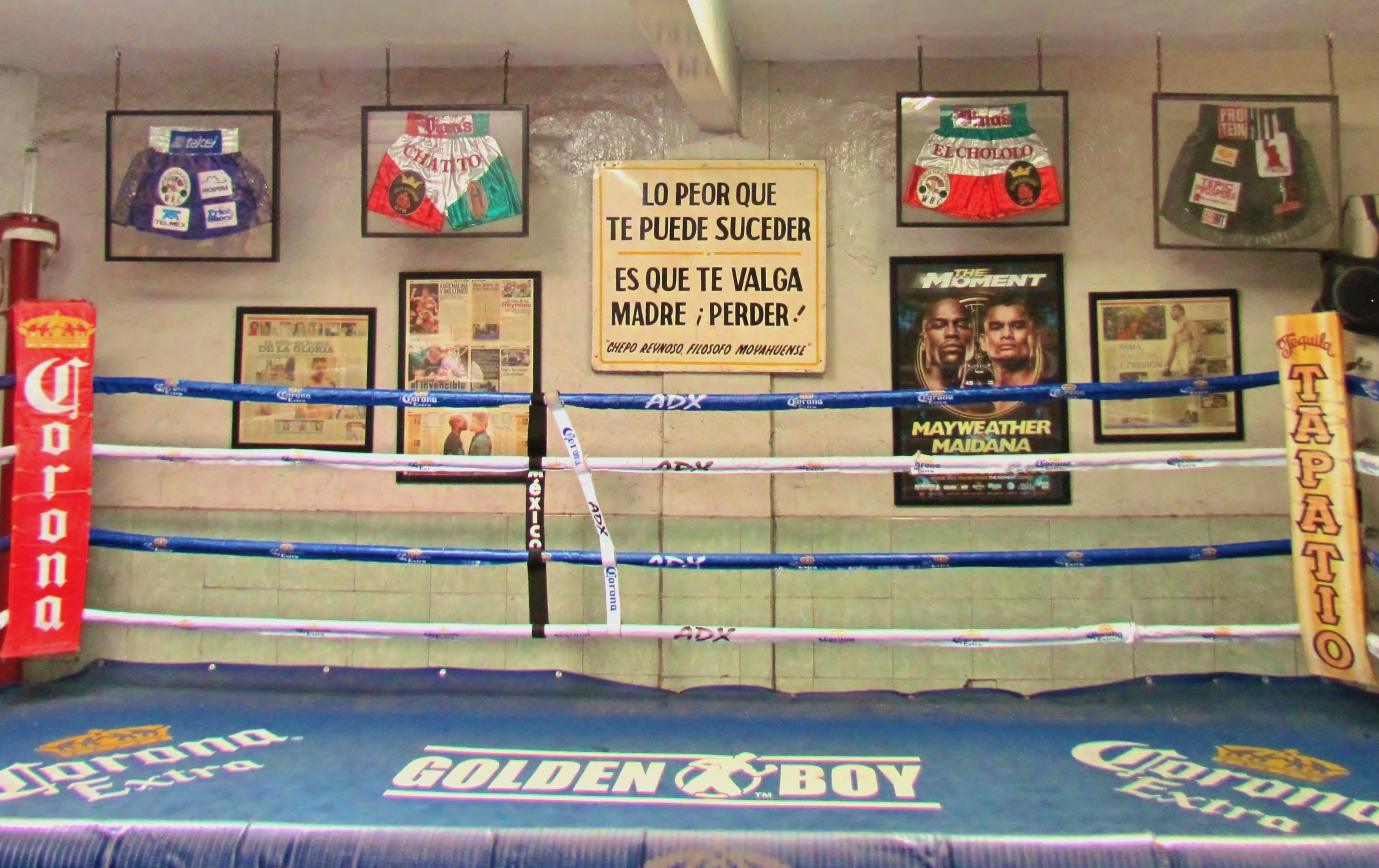 The Ramshackle Boxing Gym That Has Produced Five World Champions