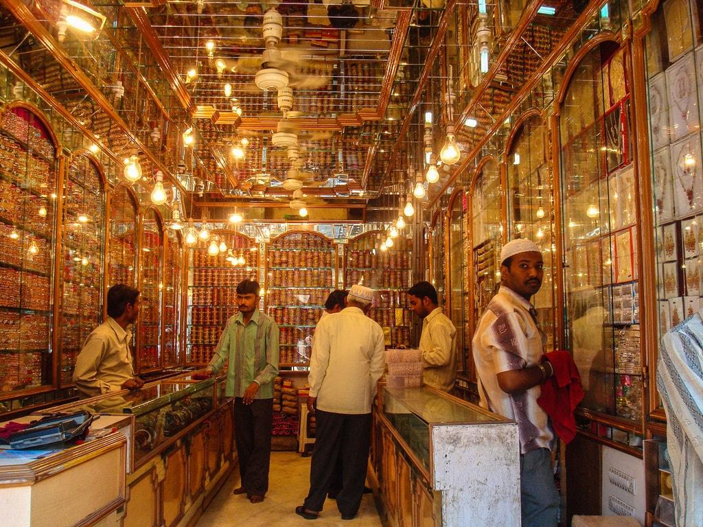 Laad Bazaar is in Hyderabad | © Cephas 405 / Wikimedia Commons