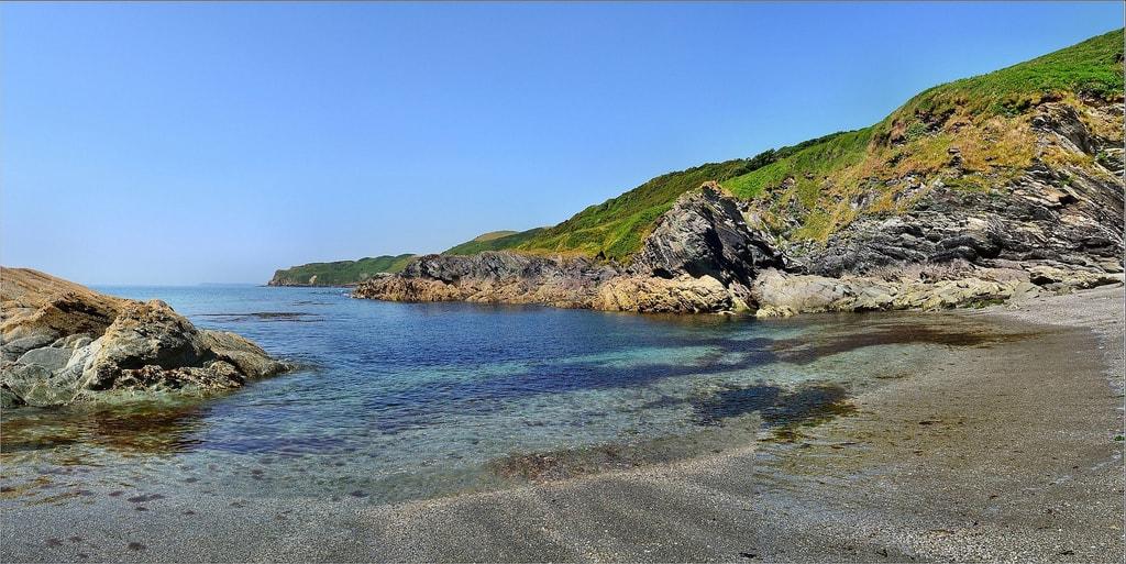 Lansallas Cove, Cornwall