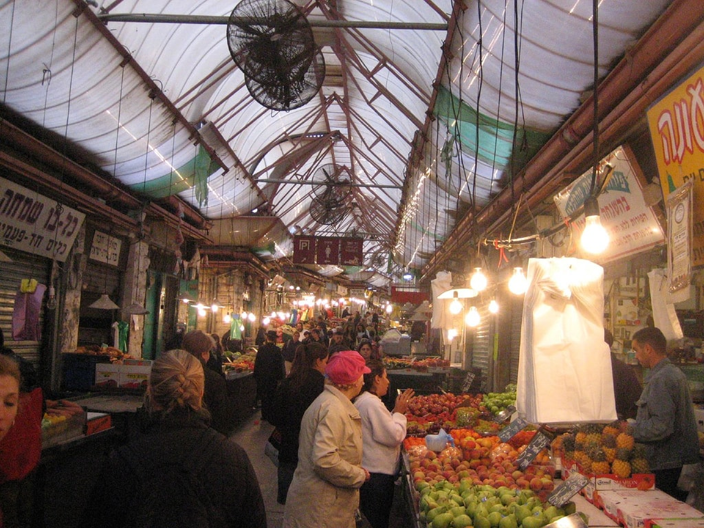 Machane Yehuda market, Jerusalem | © Joe Goldberg / Flickr